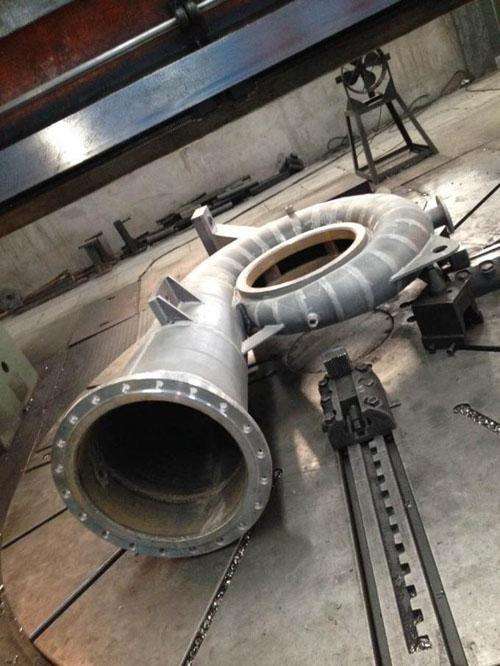 Spiral Case Manufacturer 100kw water turbine hydro-generator
