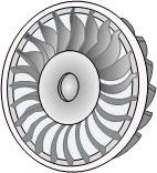 Turgo water turbine