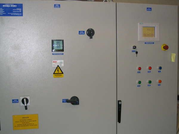 hydro electric system turbine controller