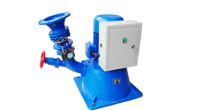 Micro-hydro-turbine-XJ25-3.0DCT4-Z-install