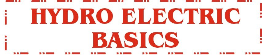 hydro electric basics