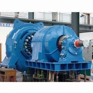 Horizontal-Francis-Turbine-Unit