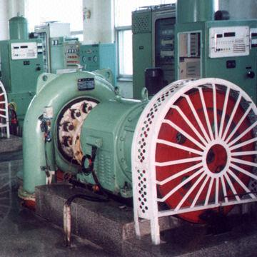 Water Power Plant Hydro Generator with 55 to 20,000kW Power and 187.5 to 1,000rpm Speed