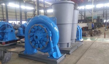 Francis turbine casing water turbine generator