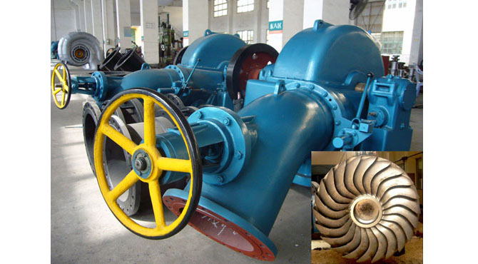 Turgo Inclined Jet Turbine Generators