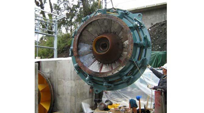 tubular turbine generators
