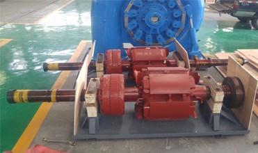 water turbine generator rotator