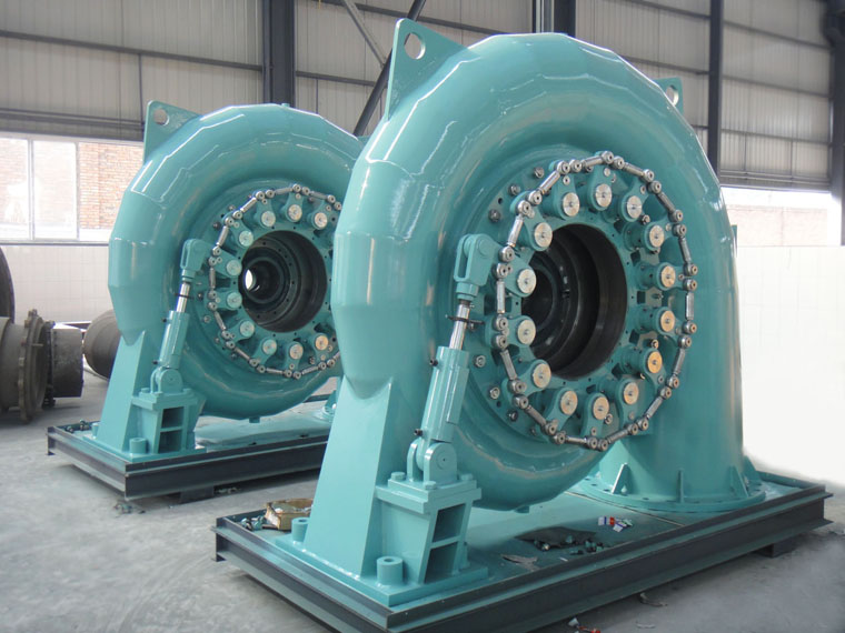 kaplan water turbine generator