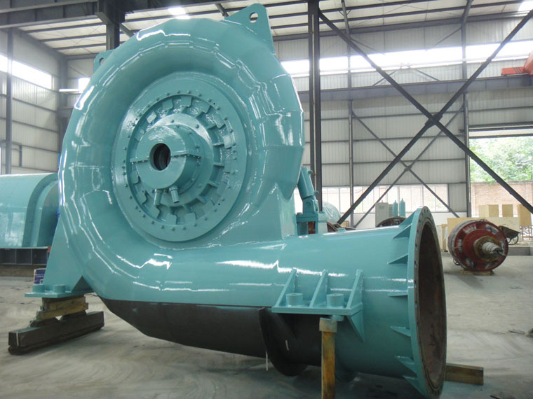 kaplan water turbine generators
