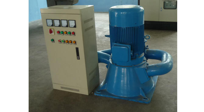 Small hydro turbine generator